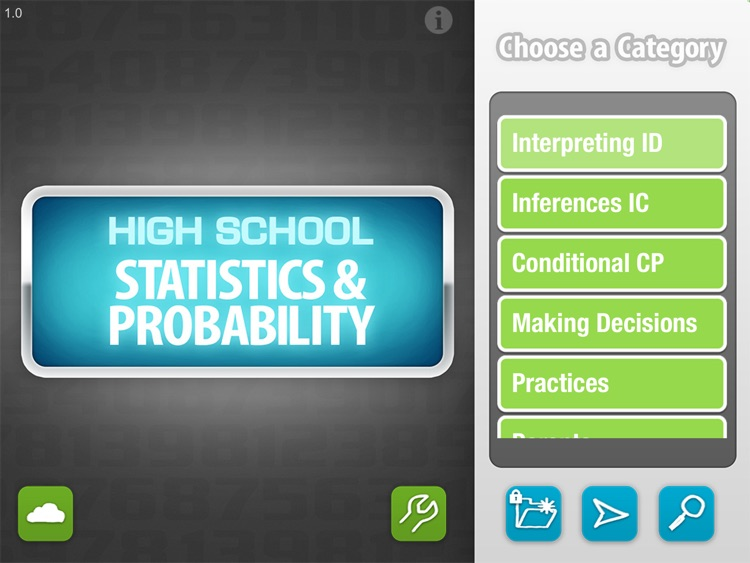 High School Math Statistics & Probability -  Common Core curriculum builder and lesson designer for teachers and parents