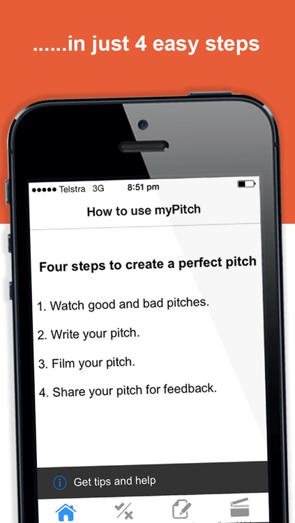 myPitch: Impress the recruiter at a job interview with your cv and elevator pitch screenshot-1