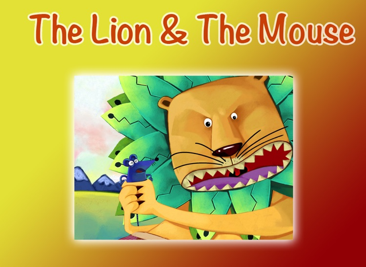 THE LION AND THE MOUSE - Children's stories, folktales, fairy tales and fables.