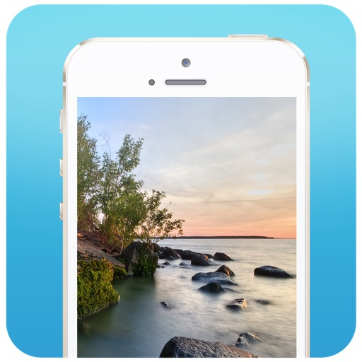 Wallpapers and Backgrounds for iOS 7 and iPhone 5s iOS App