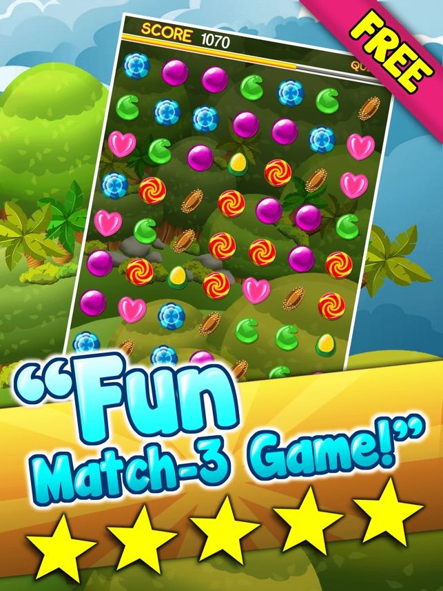 Candy Games Blitz Mania Free - Play Great Match 3 Game For Kids And Adults  HD 4+