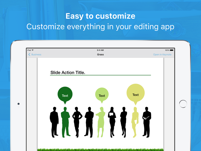Templates for Keynote Pro Screenshot