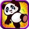 パンダ ジャンプ ゲームがホイール - アーケードします。ジャングルの冒険- 最高の無料の動物ゲーム