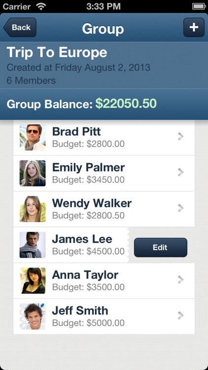 Group Budget - The best finance app for groups