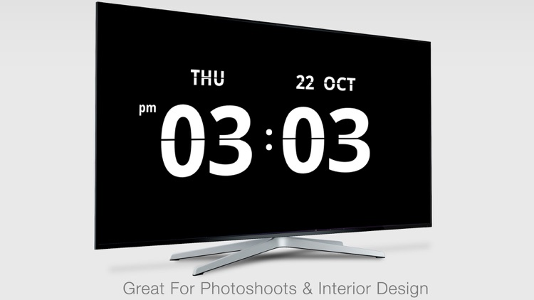 Flip Clock for TV