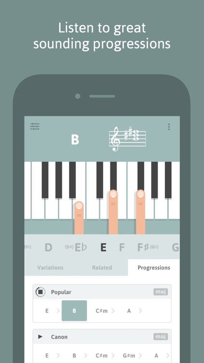 Cheeky Fingers - Piano Chord Dictionary, Progressions and Suggestions