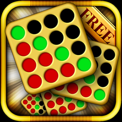 Four In A Row [ HD ] Free - Logic Puzzle Line Game for iPad & iPhone icon