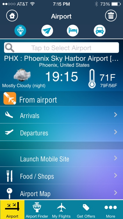Phoenix Airport + Flight Tracker Premium