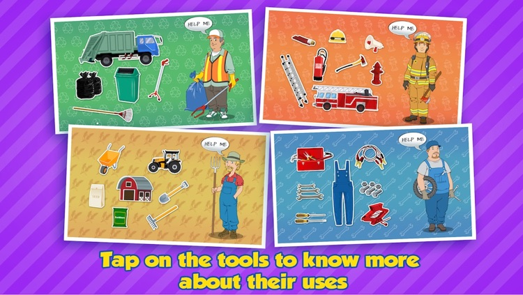 Community Helpers Play & Learn: Educational App for Kids screenshot-3