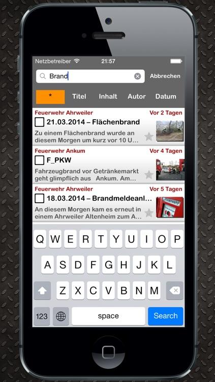 Rescuer News screenshot-3