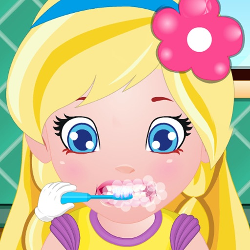 Tidy Girl & Wash Cloth & Wash Face & Brush Teeth - Kids & Baby Game