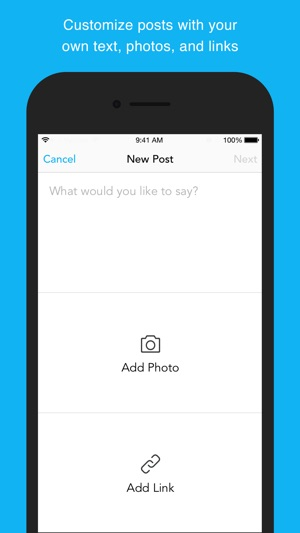 Pagemodo for Social Media: Schedule Twitter, Facebook, and LinkedIn Posts Screenshot
