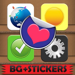 Stick'Em Stickers HD : Free Photo Edit and Doodle