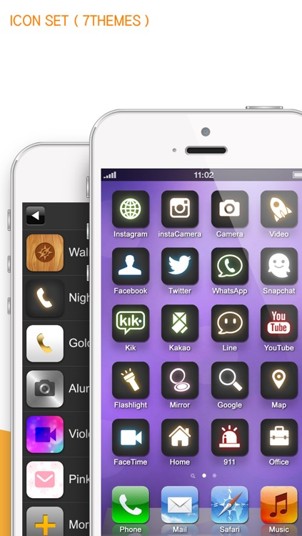One touch call, Apps, home screen shortcut icon ( iFavorite Pro : for Instagram camera, Snapshat, WhatsApp and iOS7 ) screenshot-4