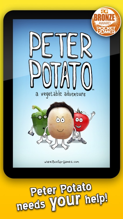Peter Potato Lite - free vegetable mini games for kids
