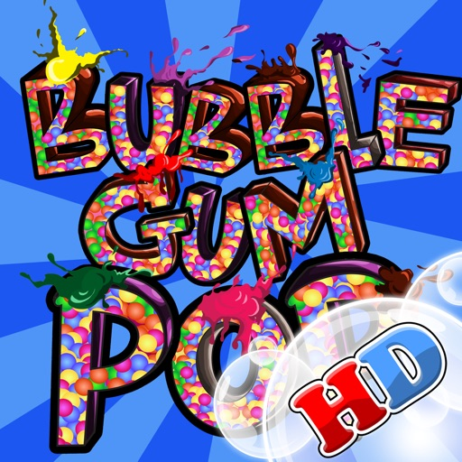 A Bubblegum PoPs Match Puzzle HD Game