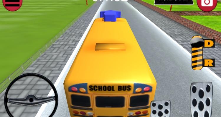 Bus Parking 3D - School Bus screenshot-3