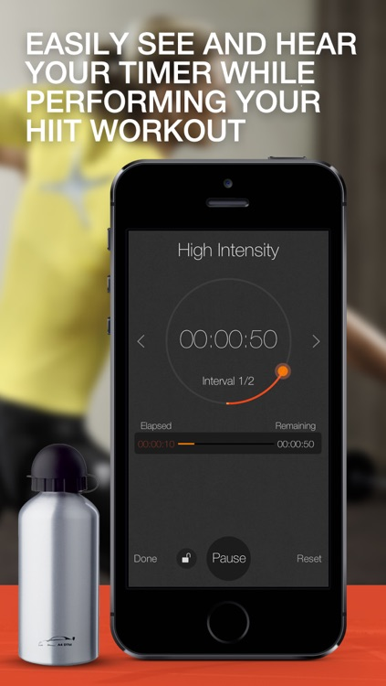 HIIT Timer - High Intensity Interval Training Timer for Weight Loss Workouts and Fitness screenshot-4