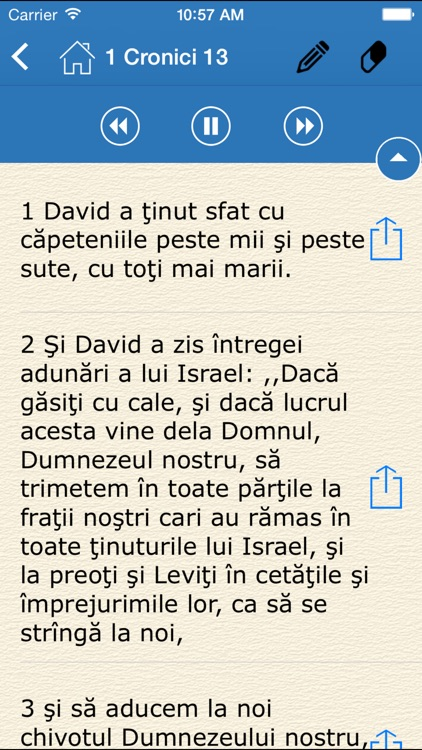Audio Bible - Biblia Cornilescu (The Holy Bible in Romanian) screenshot-3