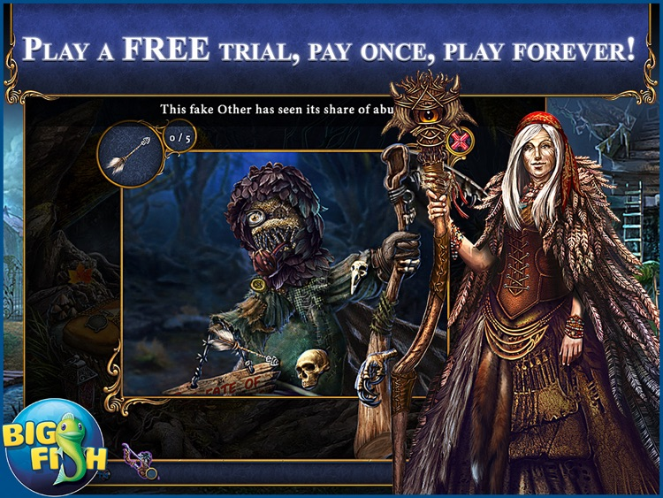 Bridge to Another World: The Others HD - A Hidden Object Adventure screenshot-0