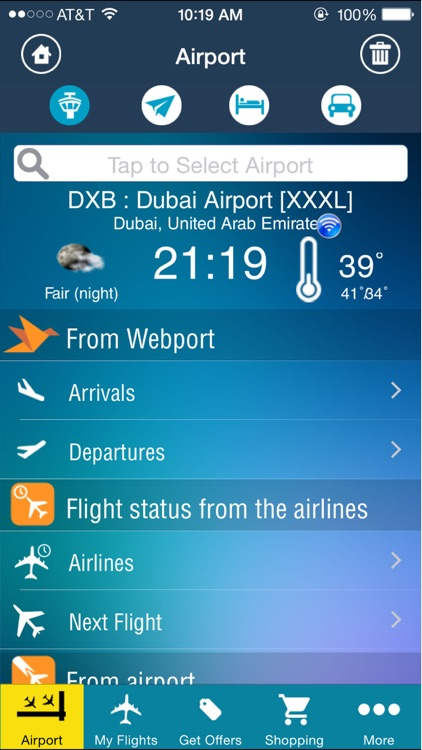 Dubai Airport DXB +Flight Tracker screenshot-1