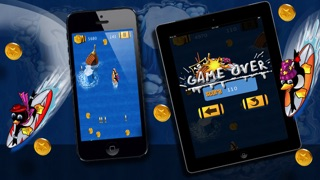 Super Surfer Penguin - Crazy Wave Surfing Dash (Free Game)-2