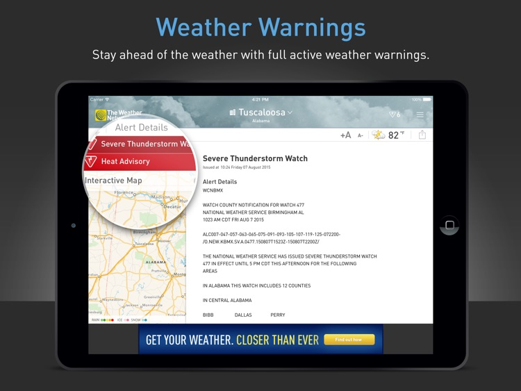 The Weather Network for iPad