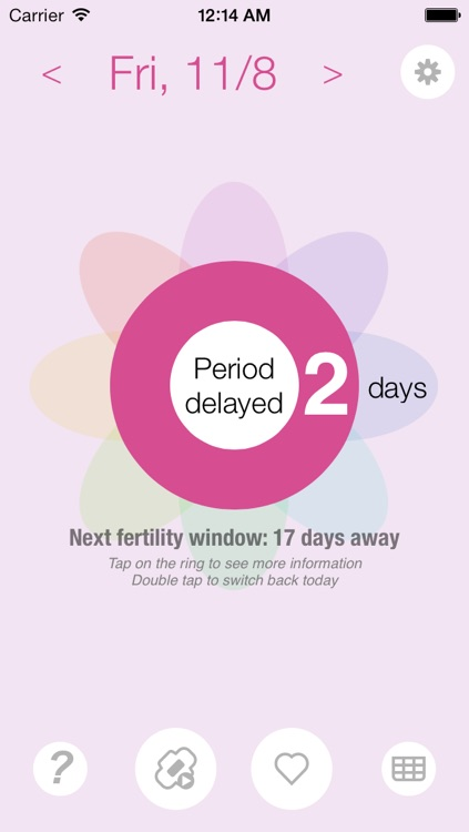 Ovulation and Pregnancy Calendar Pro (Fertility Calculator, Gender Predictor, Period Tracker) screenshot-2