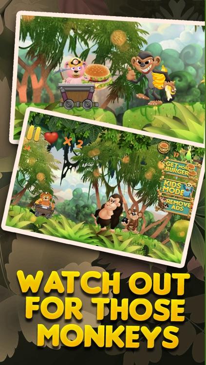 Burger-Crazy Bears Among Us - Hunger Battle of the Super Evil Sky Monkeys FREE