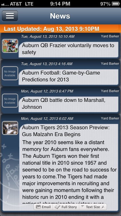 Auburn Football Live screenshot-0