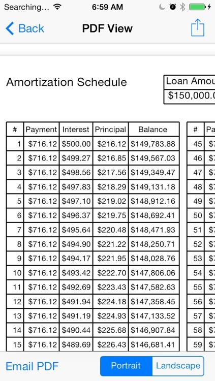 Bighorn Loan Calculator screenshot-3