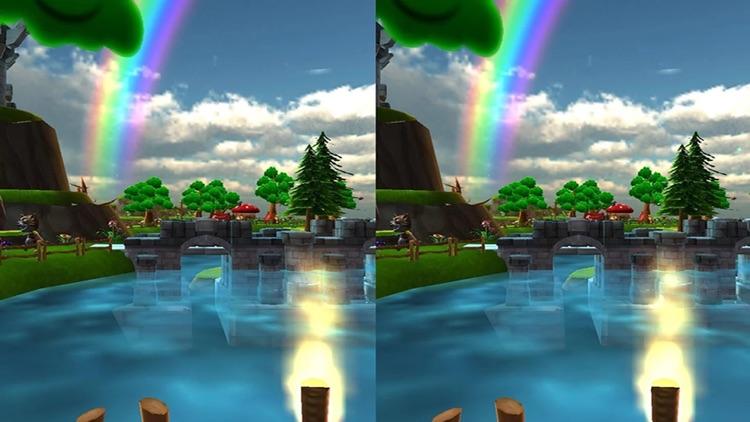 VR Talking Cat & Dog Park: Real 3D Game screenshot-4