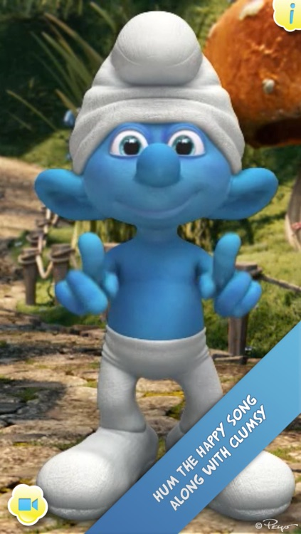 iTalk Smurf screenshot-4