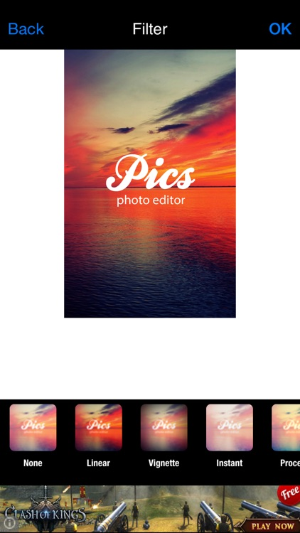 Pics - photo editor for iPhone and iPad