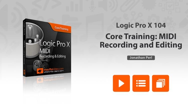 MIDI Recording and Editing in Logic Pro X