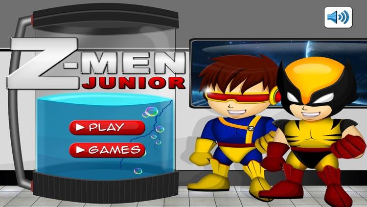 Action Z-Men Boy Heroes Free screenshot-3