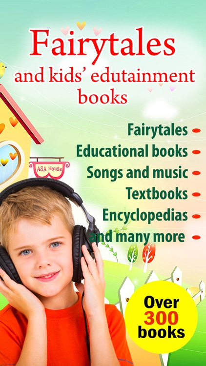 Fairytales and kids' edutainment books