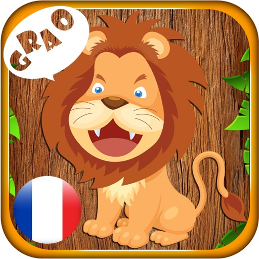 Animal Enfant en Français - Kid learns animal sound and name in French iOS App