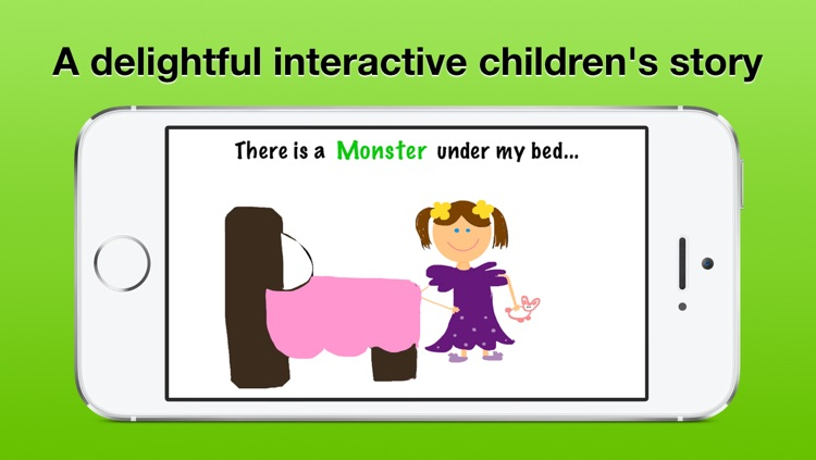 The Monster Under My Bed - Storybook Deluxe - Interactive children's story for all kids