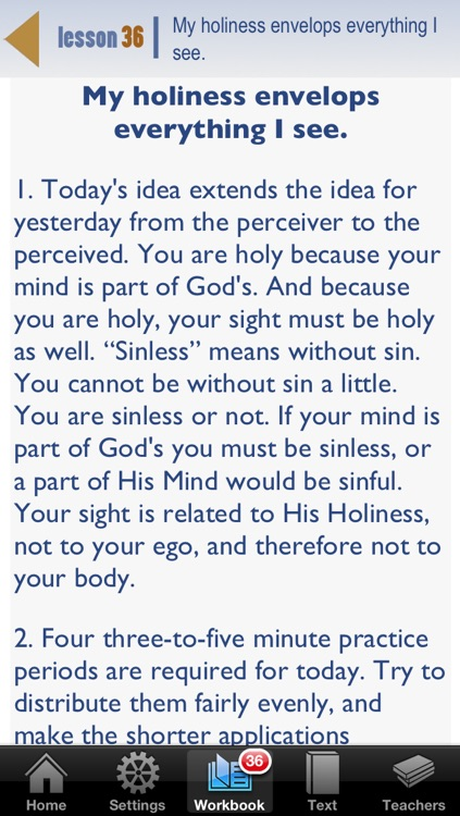 The ACIM App screenshot-1