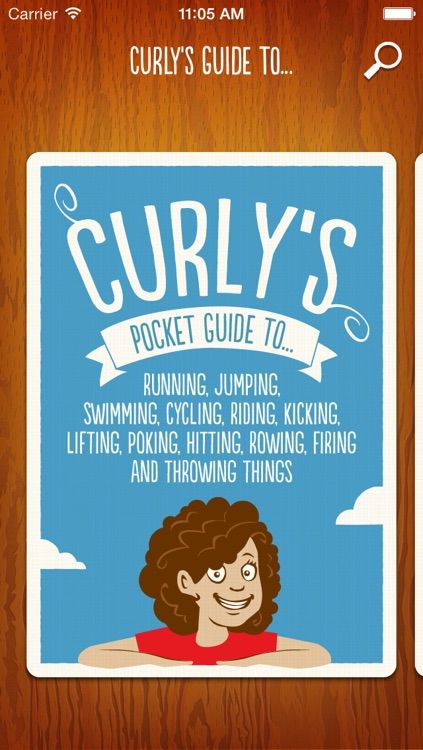 Curly's pocket guide to sports.