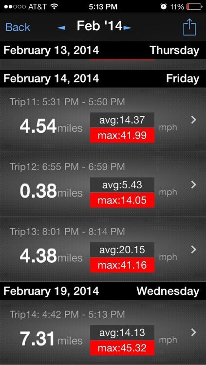 Speed n Miles - Speedometer with Trip Computer screenshot-3