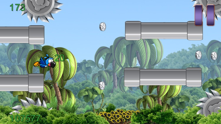 Flappy Wing - Jungle Game Edition
