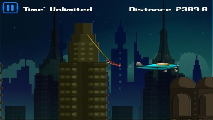Rope Man - Swing 'n Fly screenshot-3