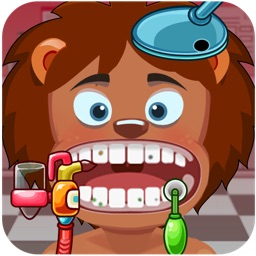 Mad Madagascar Dentist: Europe Most Wanted Doctor Office Game