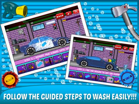 Little Car Wash –washing up free kids Games-ipad-2