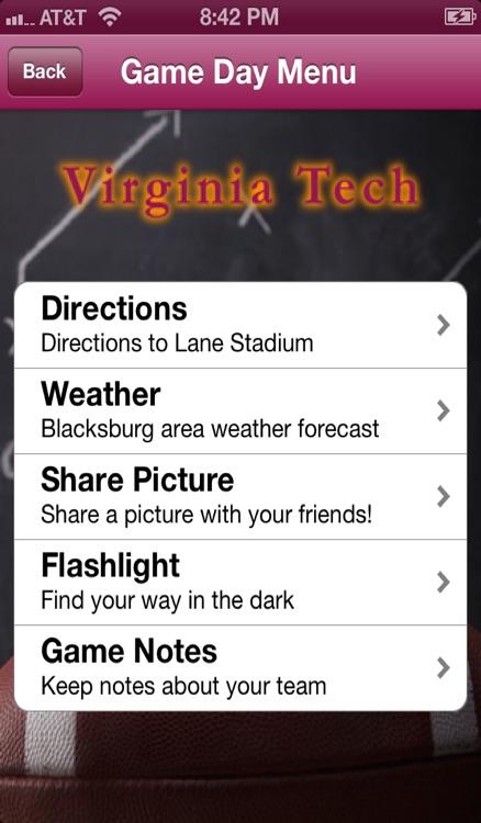 College Sports - Virginia Tech Football Edition screenshot-3