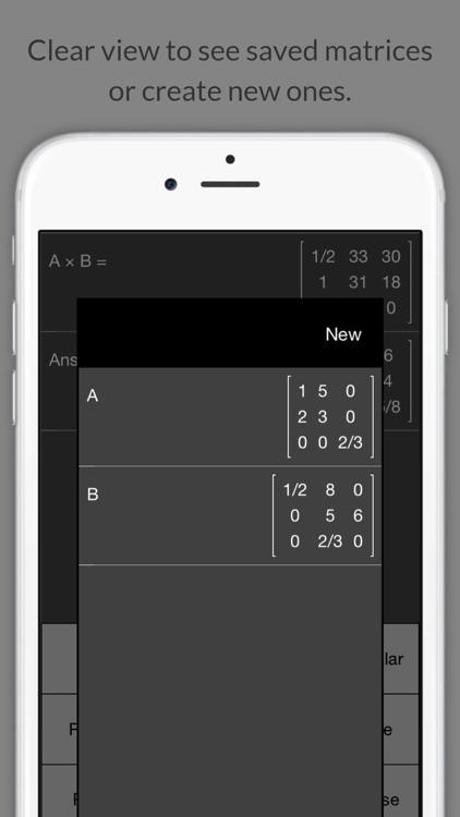 Matrix Calculator + screenshot-4