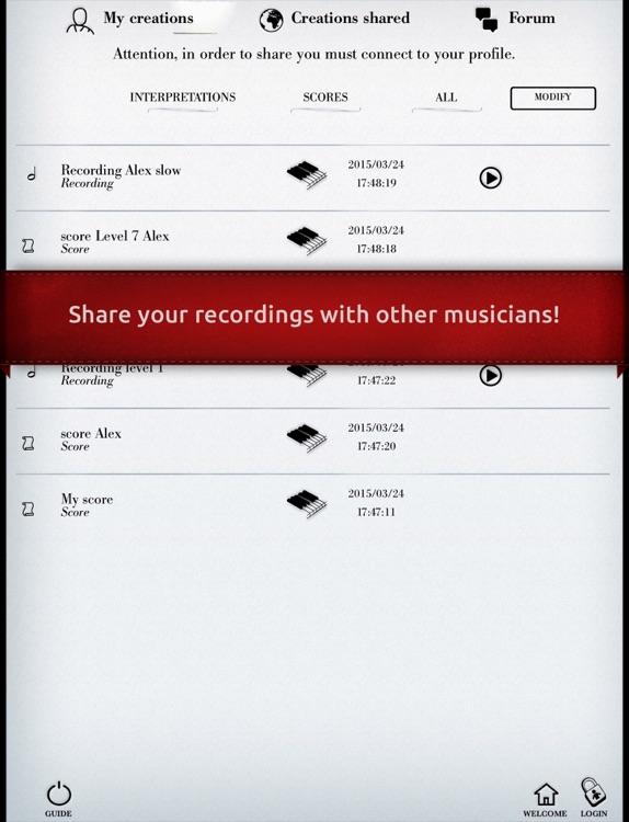 Play Satie – Gymnopedie No. 1 (interactive piano sheet music) screenshot-4