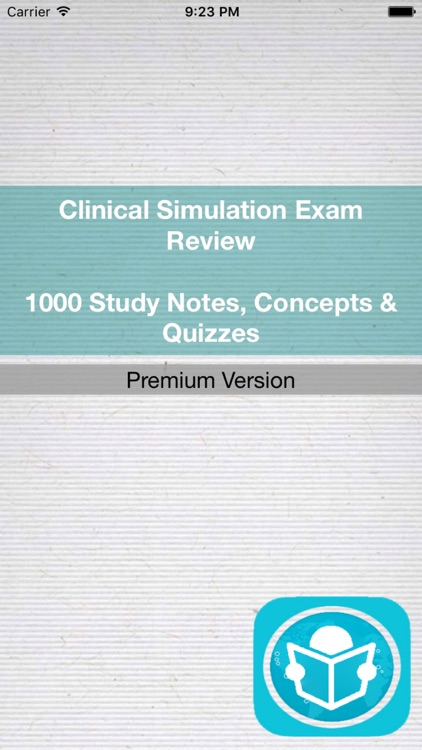 Clinical Simulation : 1000 Study Cards, Terms & Concepts For Self Learning & Exam Preparation